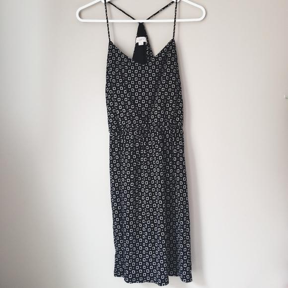 LOFT Dresses & Skirts - Loft XS black/white patterned sun dress